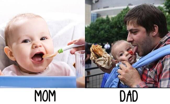 мамы против пап