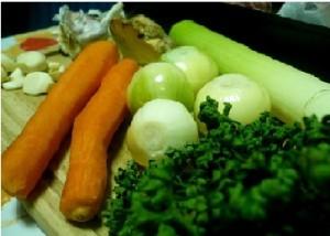 Овощи для гуляша