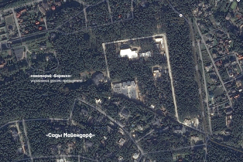 Сечин вьет гнездо в Барвихе / «Ведомости» обнаружили дом Игоря Сечина в Барвихе