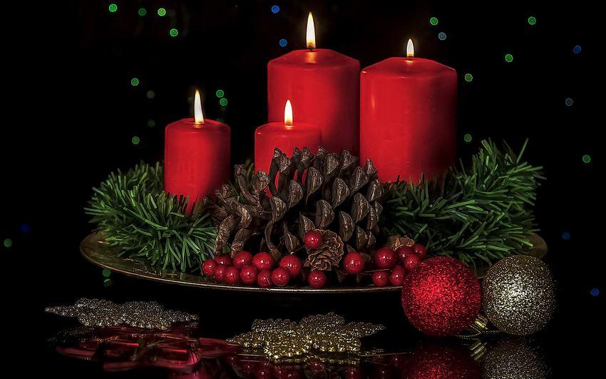 Новый год, праздник, подарки, новогодние свечи, сказка
