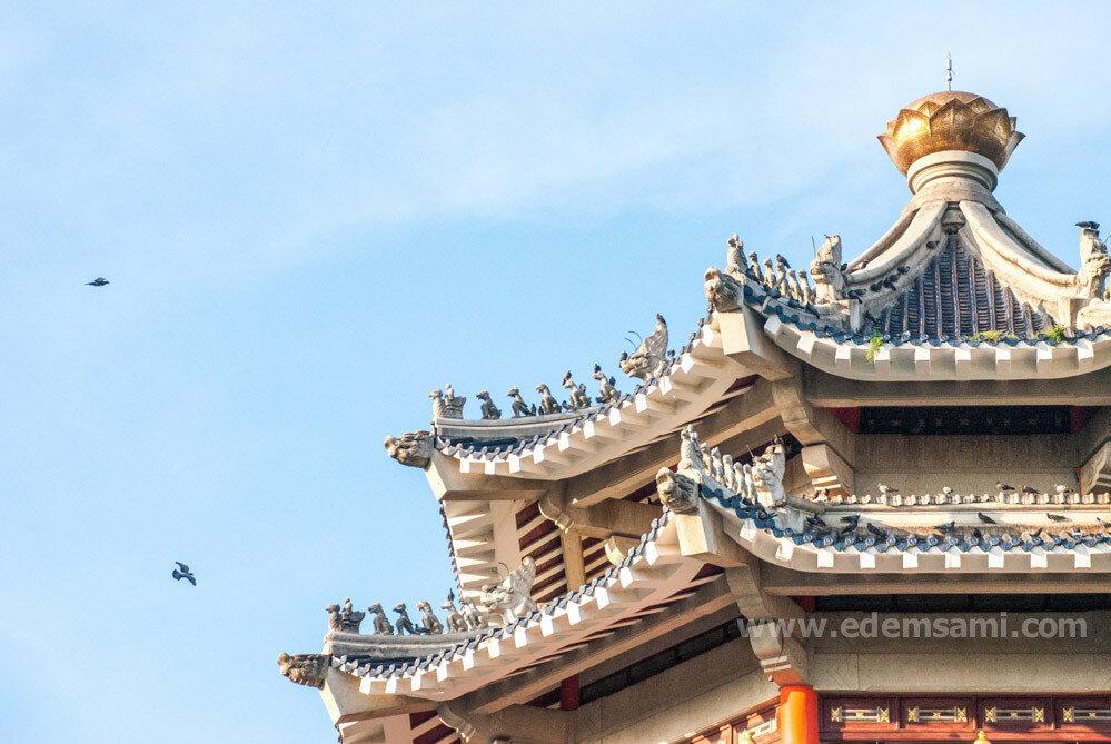 Пагода в парке Трех Королевств