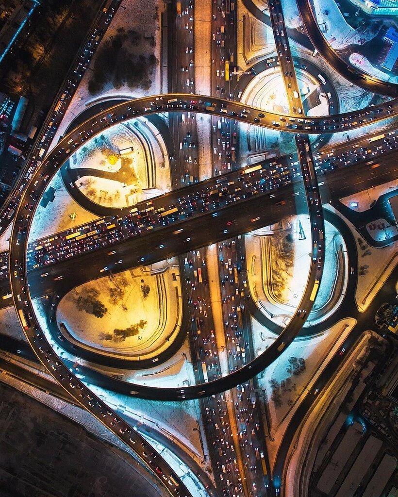 Развязка МКАД и Ленинградского шоссе