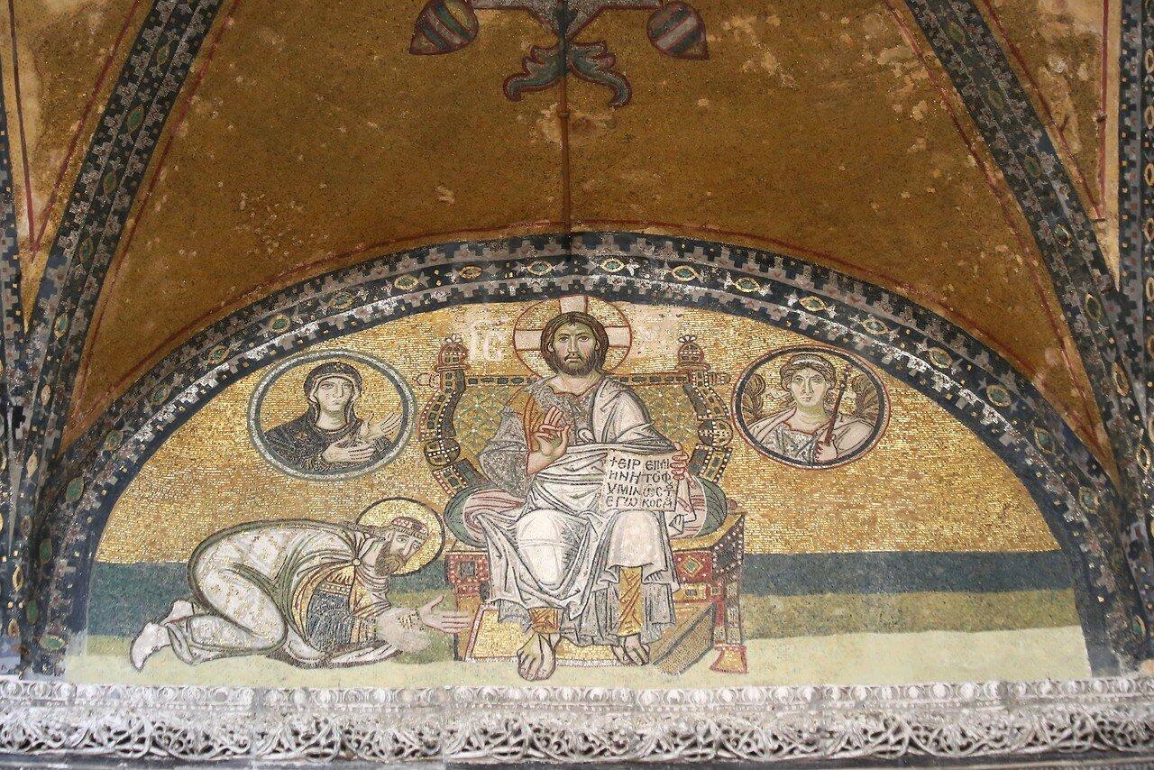 Istanbul. Hagia Sophia Cathedral. Mosaics