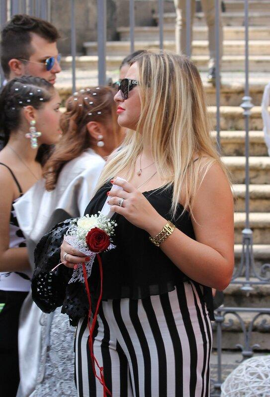 Венчание в Катании. Сицилийские женщины