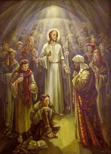 Дмитрий Васильевич Близнюк (род. в 1935 году). Иисус и царедворец в Капернауме. Евангелие от Иоанна, 4: 46-53.