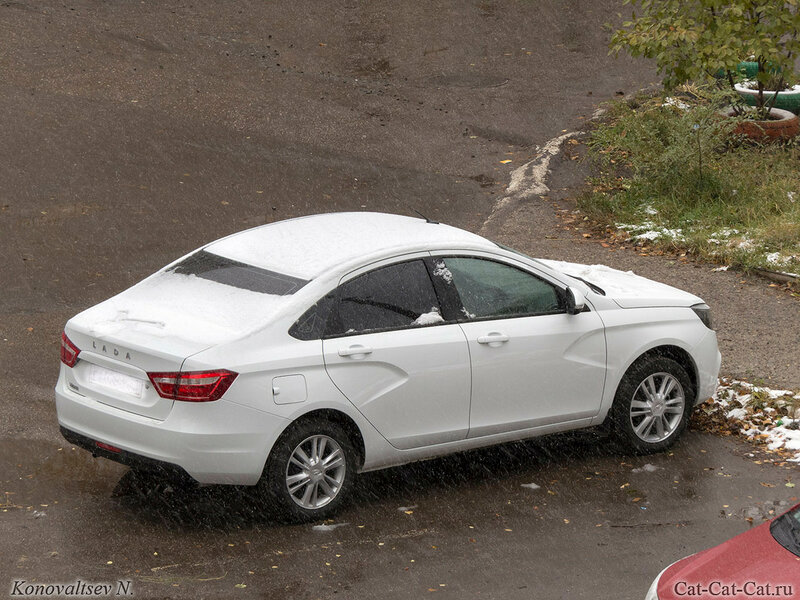 Первый снег на авто