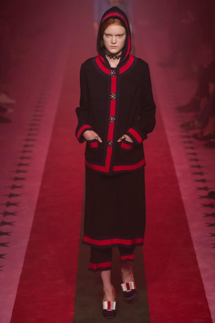 Неделя моды в Милане: Gucci весна 2017 (21 фото)