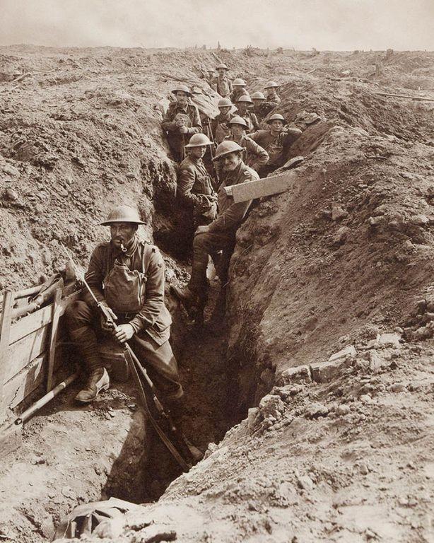 """""""Примкнуть штыки!"""" Австралийская пехота готовится к контратаке"""