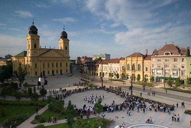 Дебрецен, Венгрия, 56 евро в сутки Компактный и уютный Дебрецен – культурный центр страны со м