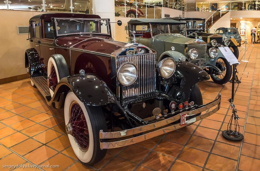 5. А это Rolls Royce Phantom I 1927 года.