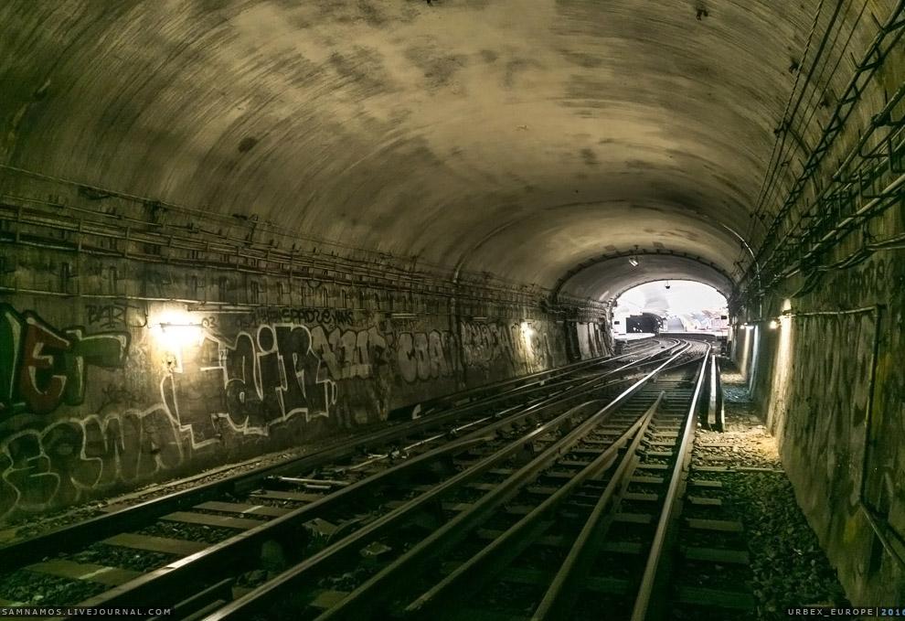 6. Протяженность тоннелей непривычно маленькая — от 300 метров до километра.