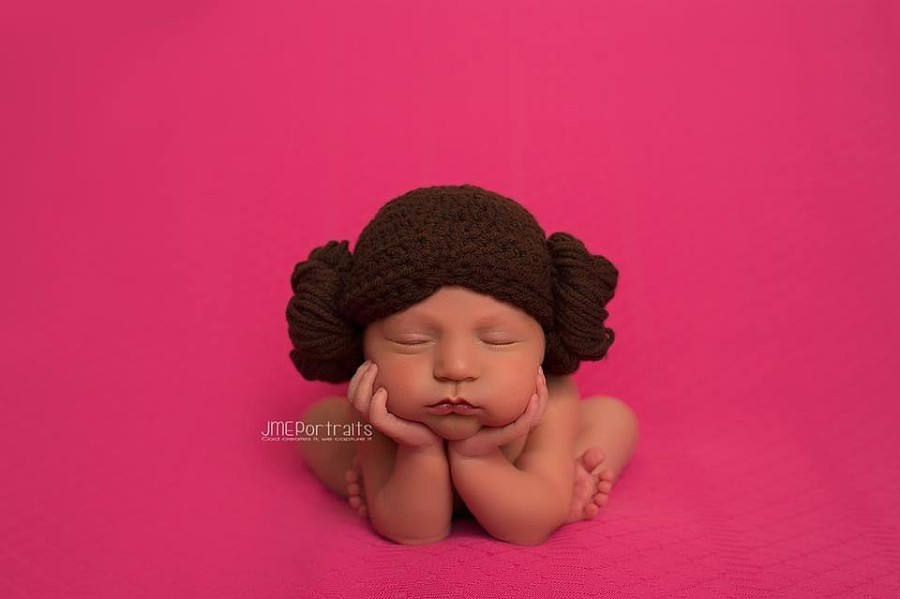 10. Маленькая принцесса Лея