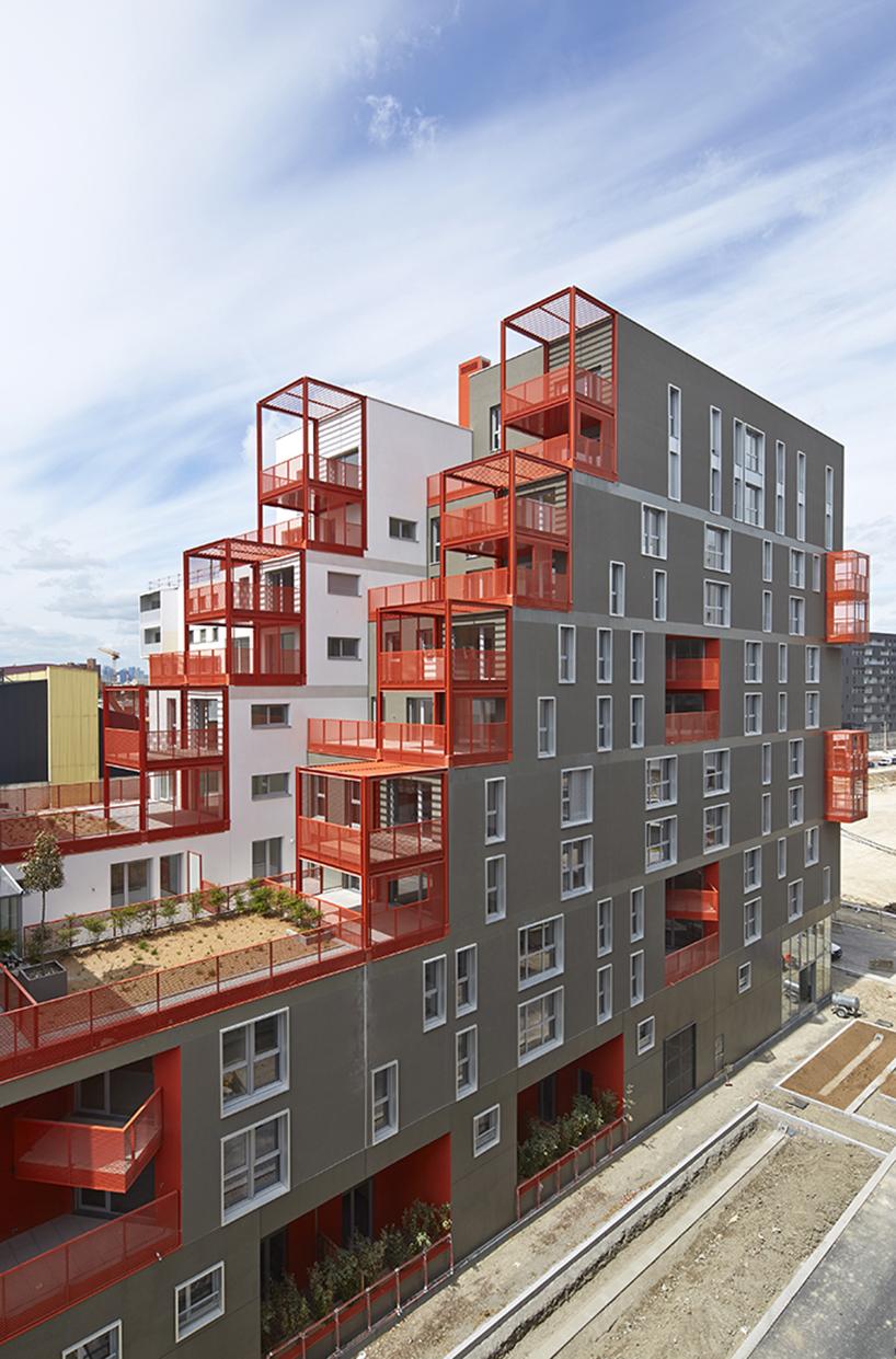 Проект квартирного дома в эко-районе Парижа