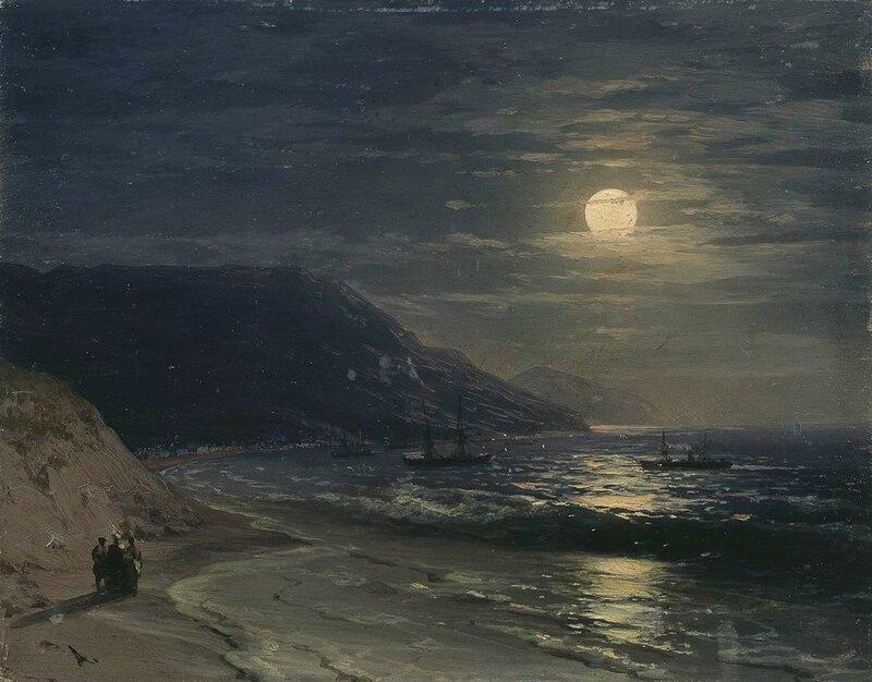 Aivazovsky_Yalta_night