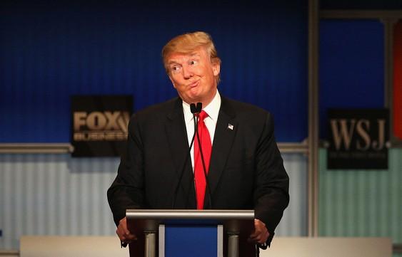 Ку-клукс-клан хочет видеть Трампа президентом США