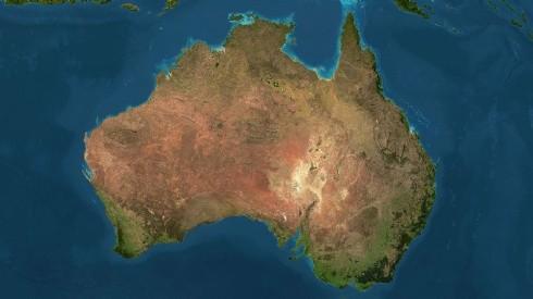 Ученые поведали, как Австралия каждый год меняет свое положение