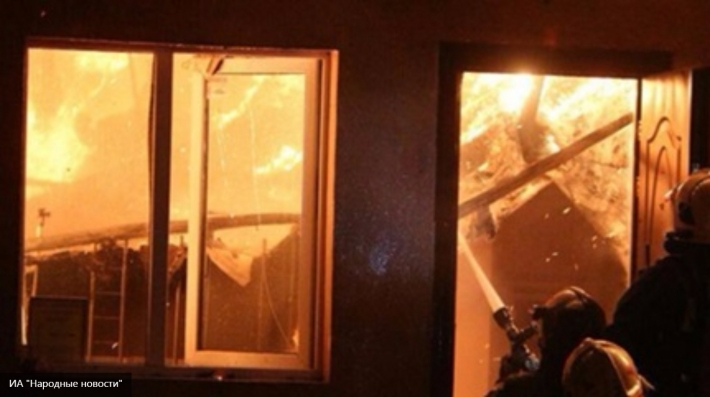 НаКубани впожаре в личном доме погибли два человека