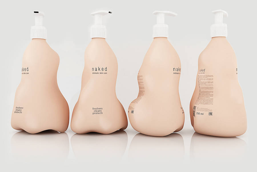 Intimate Care Product Packaging That Reacts To Human Touch