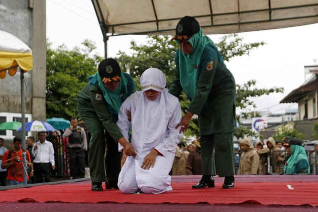 Whipping Punishment in Indonesia