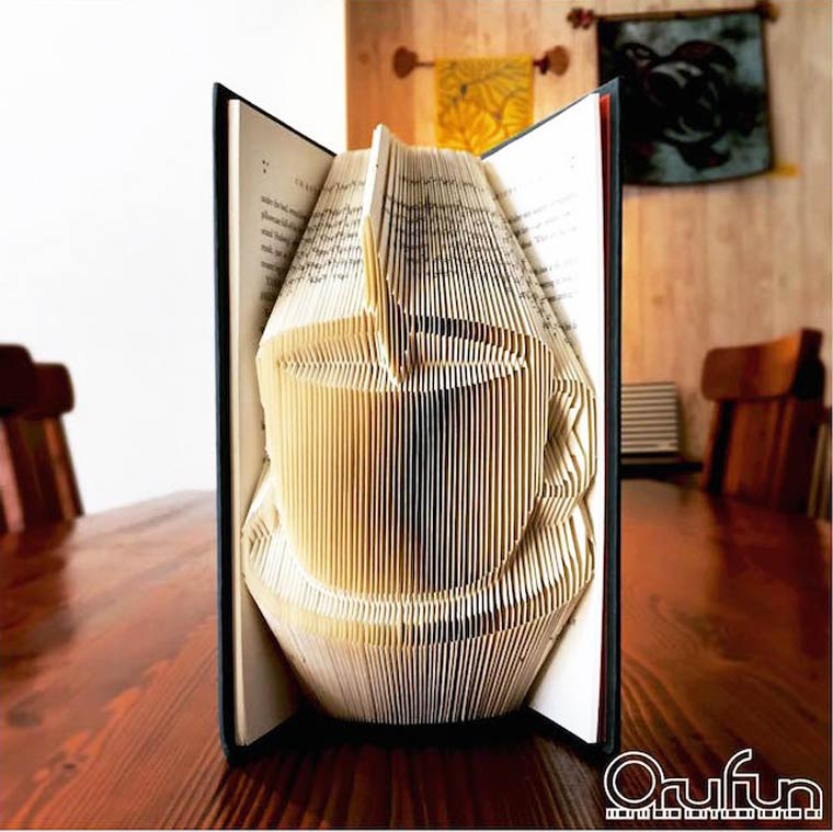 Folded Book Art - The amazing folded book art creations of Yuto Yamaguchi