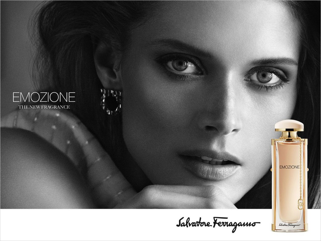 Malgosia Bela for Emozione by Salvatore Ferragamo