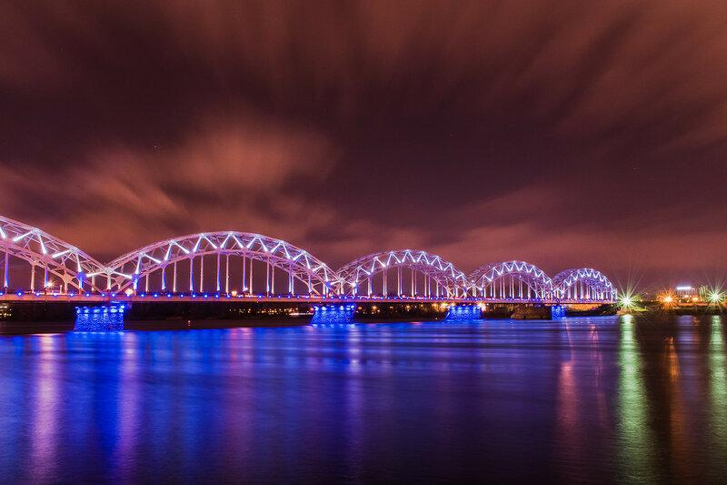 Хрустальный железнодорожный мост