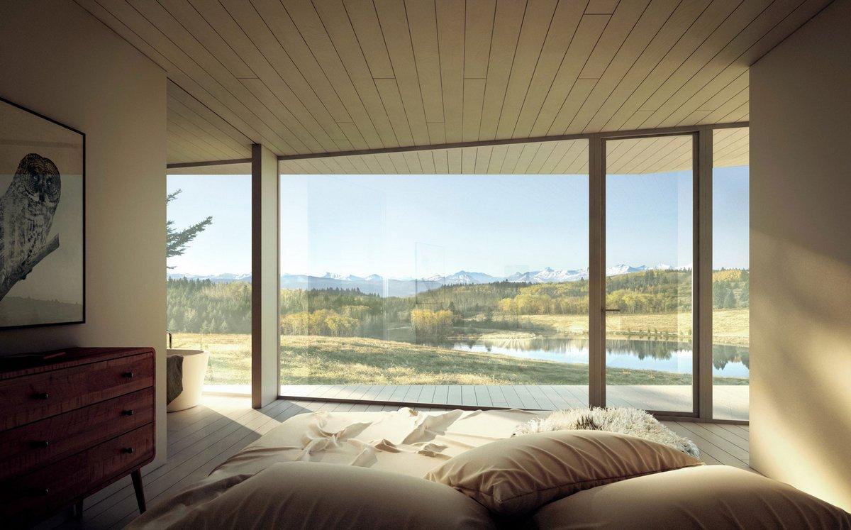 Проект дома в национальном парке Банф
