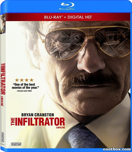 Афера под прикрытием / The Infiltrator (2016/BDRip/HDRip)