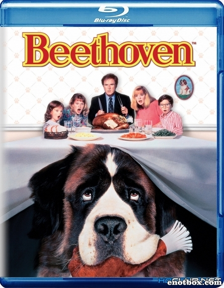 Бетховен / Beethoven (1992/BDRip/HDRip)