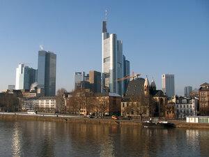Франкфуртские небоскрёбы