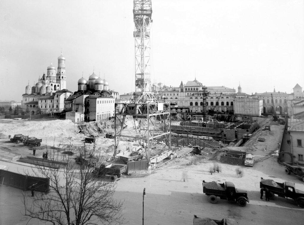 513655 Начало строительства Дворца Съездов 1960 В.Г. Земский.jpg