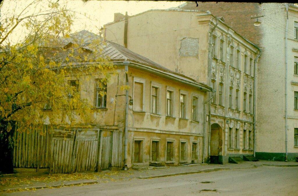 514904 Пожарский (тогда - Савельевский) переулок А. Васильев 1979.jpg