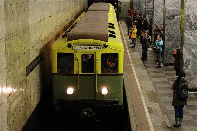 Прибытие на станцию Сокольники