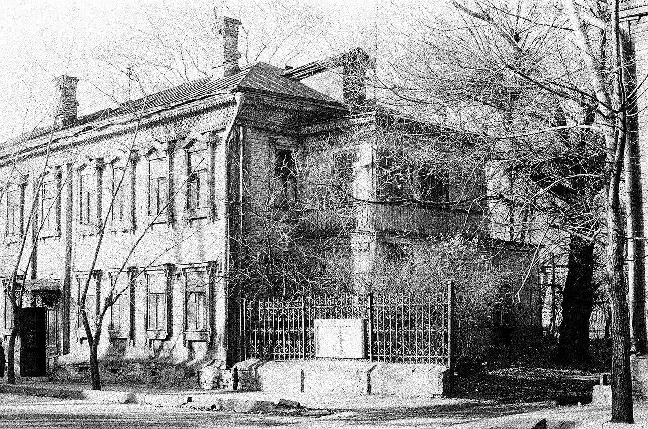 1980. Дом №19 по Сокольническому переулку
