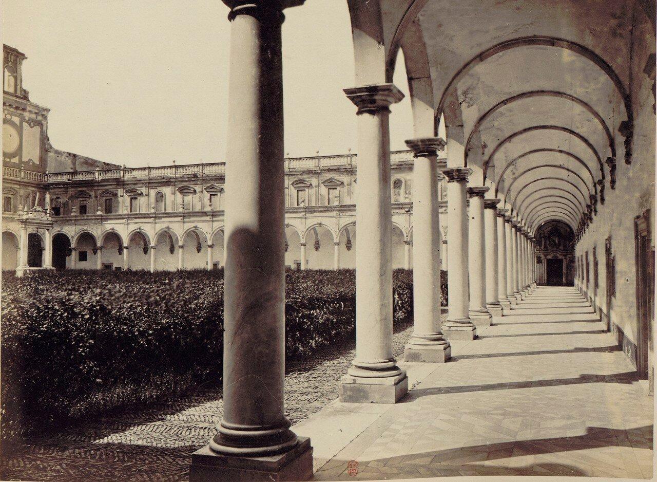64. Картезианский монастырь святого Мартина. Галереи монастыря