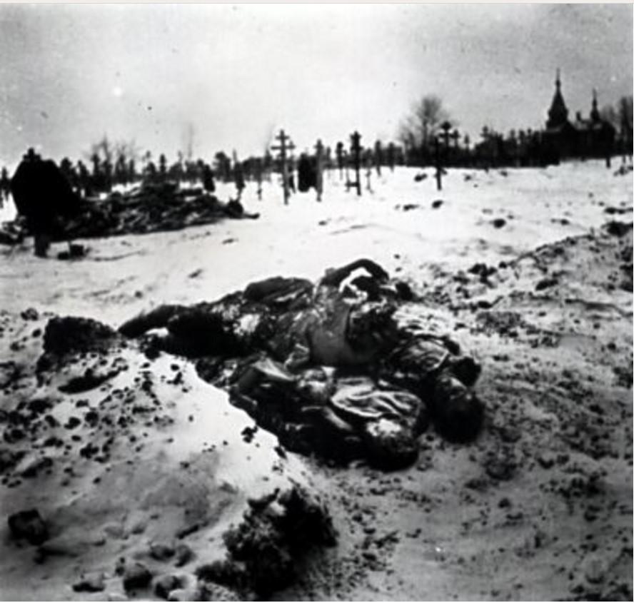 Тела на кладбище в Бузулуке