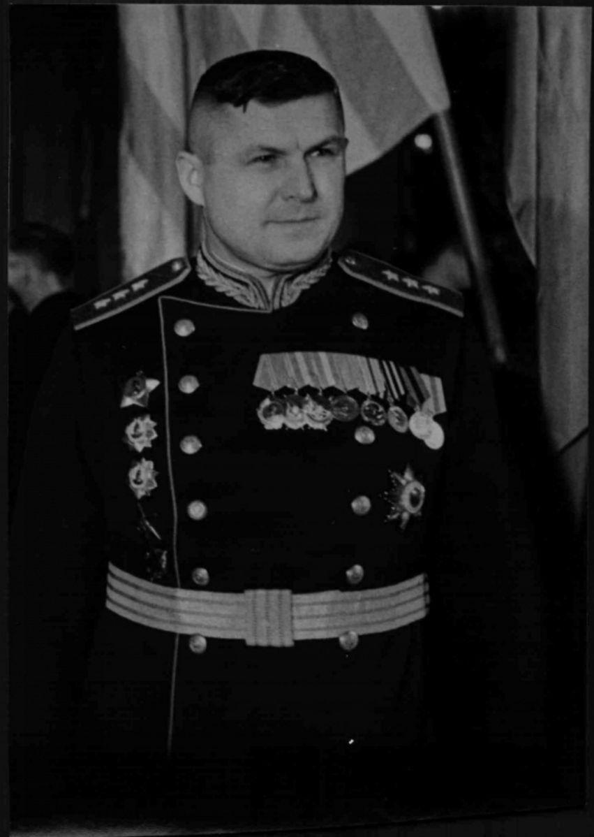 1945. Маршал Конев, советский представитель Союзной контрольной комиссии для Австрии