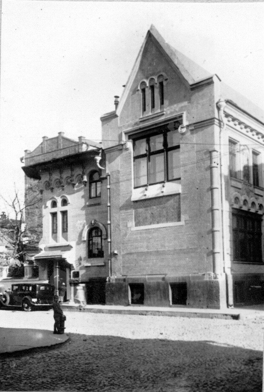 1930-е. Дом Соловьева в Малом Ржевском переулке