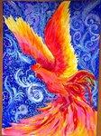 "Лесина Алёна (рук. Горбач Светлана Александровна) - ""Огненный петух-символ года"""