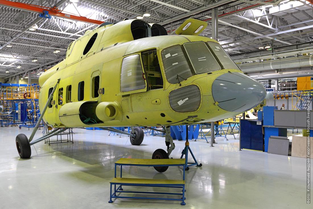носовой обтекатель вертолета Ми-17