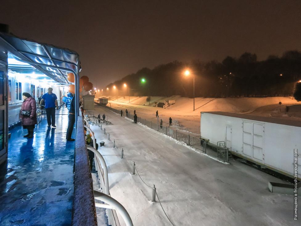 теплоход некрасов снежный круиз закрытие навигации