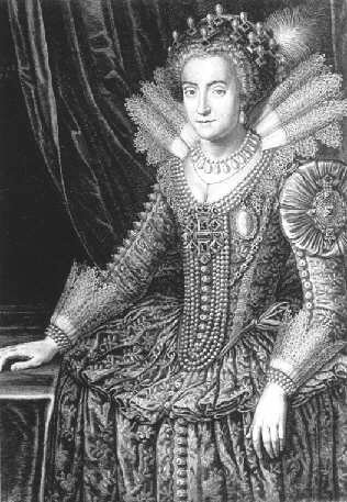 Vermhlungsbild der Elisabeth Stuart 1615Heirat mit Friedrich V.jpg