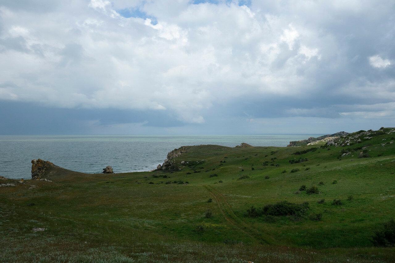 азовские берега и бухты