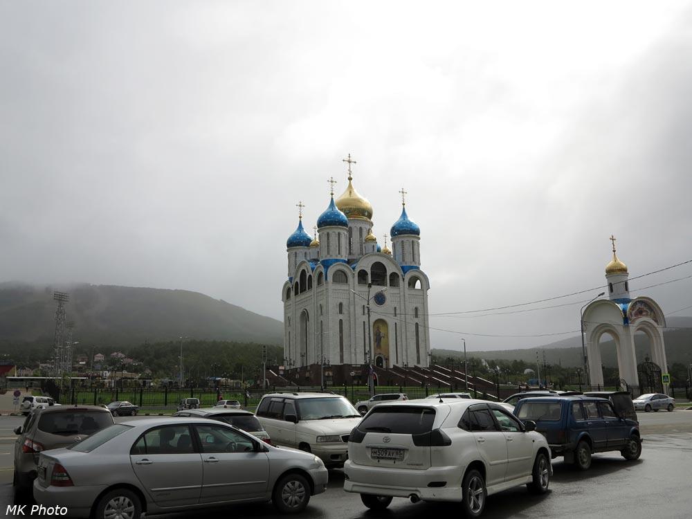Кафедральный собор у подножия г. Большевик