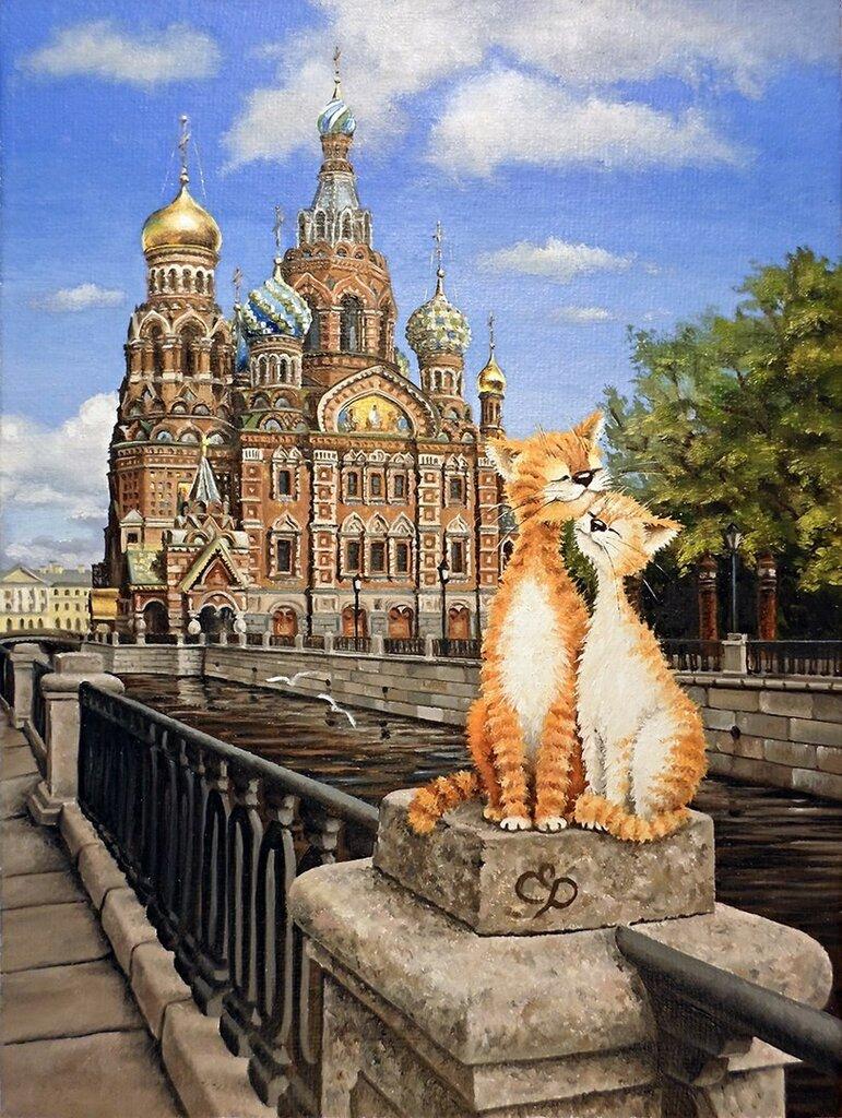 андреевич, кошки санкт-петербурга картинки хоть