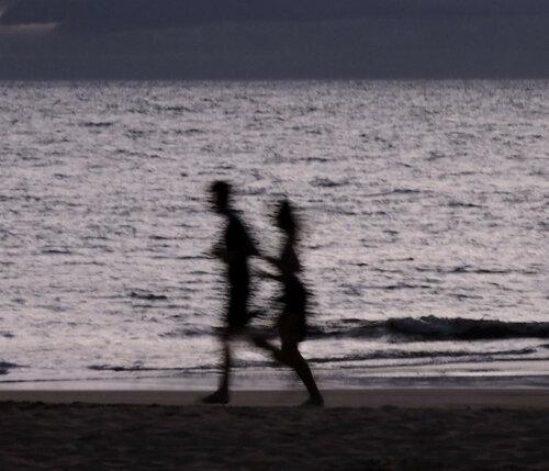 Пробежка на закате