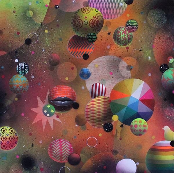 картины художника Okuda San Miguel