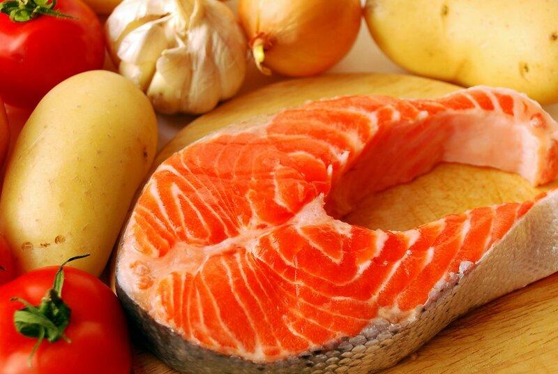 Тушеная красная рыба   необычайно вкусное блюдо