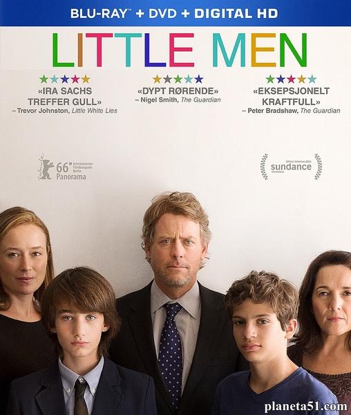 Маленькие мужчины / Little Men (2016/BDRip/HDRip)
