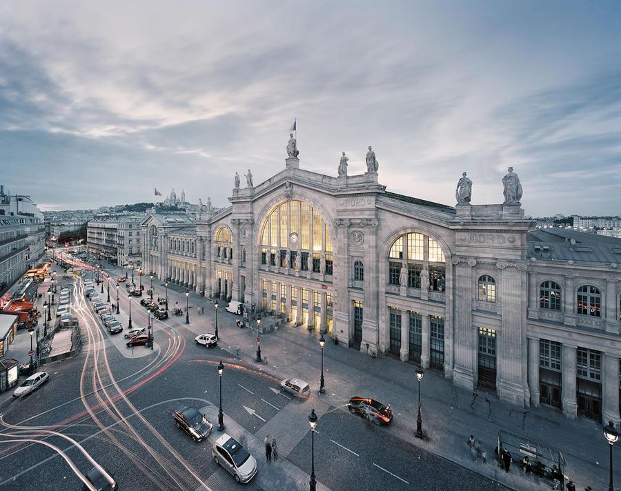 3. Вокзал Gare du Nord в Париже, Франция Северный вокзал в Париже считается крупнейшим железнодорожн